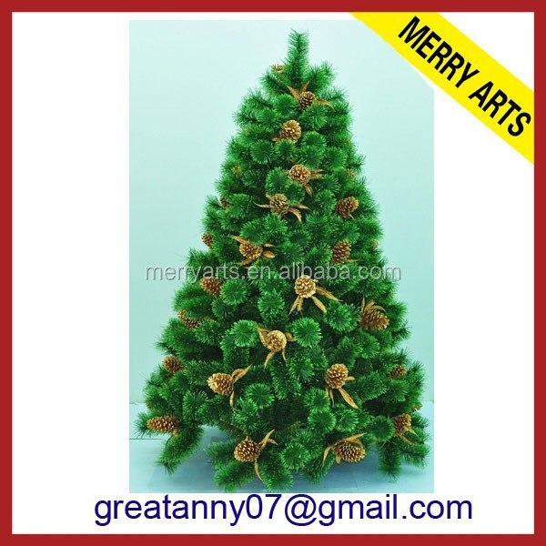 10ft 3 meter pine needle tree PVC christmas tree christmas ornament Artificial Christmas tree
