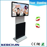 2016 Rotating Shopping Mall Information Kiosk Prices/ Advertising Touch Screen Kiosk with Digital Signage Software