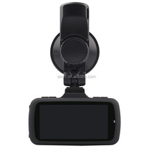 "Ambarella 1296P 2.7"" HD 170 Degree Wide Angle dual camera car blackbox dvr with gps logger and g-sensor"