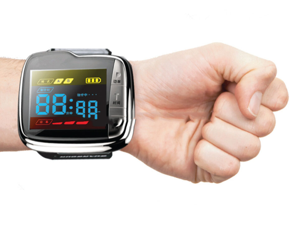 Distributors wanted lllt low level therapeutic laser pain management wrist blood pressure smart watch