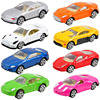 8PCS mini Children's back car toy alloy model simulation car gift boy toys diecast model car