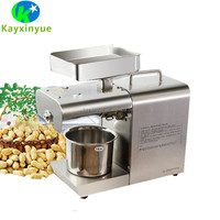 Home used flaxseed palm kernel sesame moringa oil press machine for sale