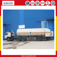 5 m3 to 55.6M3 Liquid Nitrogen Truck for Sale