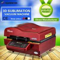 sunmeta ST-3042 3D sublimation vacuum machine for blank phone case sublimation printing
