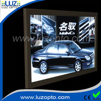 Ultra thin LED light box with snap frame