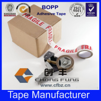 Excellent good quality 100y different sizes bopp printed tape