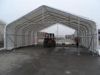Clear Span Portable Fabric Shelter for sale