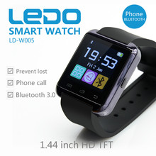 LEDO Hot Selling Wristwatch Touch Screen Bluetooth Smart Watch Phone with pedometer,Calorie Counter,Altimeter
