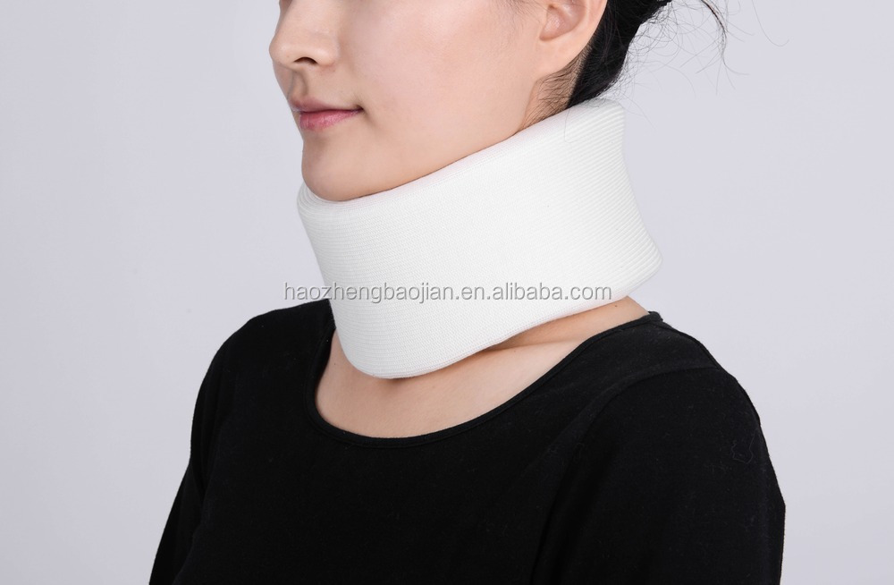 Hot Sale Healthcare Products Neck Support White Sponge Round Collar