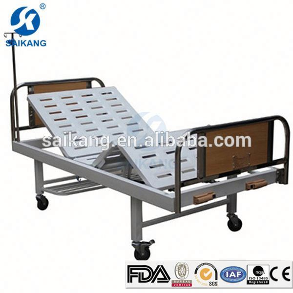 CE Factory Beautiful Medical Clinic Bed With Side Rails