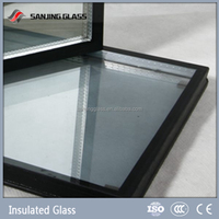 Large insulated glass panel