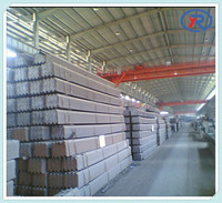 black hot rolled angle steel,astm q235 ss400 mild steel angle bar