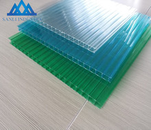 Multi- colors PC sunshine polycarbonate hollow sheets plastic board