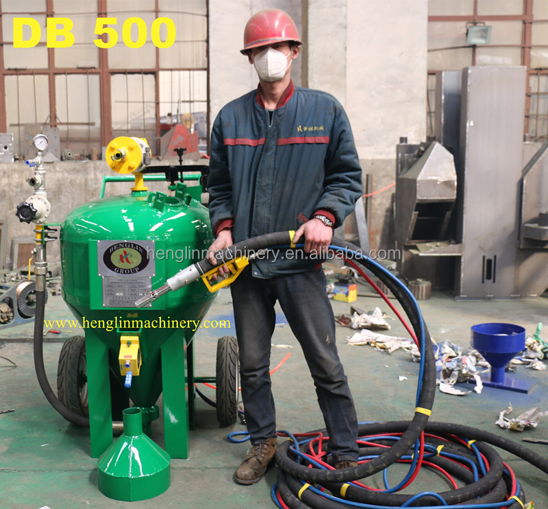 Sand blaster, High quality Marine Anti fouling Paint Removal HL500 soda blasting machine