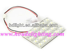 PCB F5 24W 24 LED Interior Festoon Dome Car Light Bulbs White