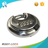 Metal Resettable Combination Round Padlock outdoor Password Digit Lock