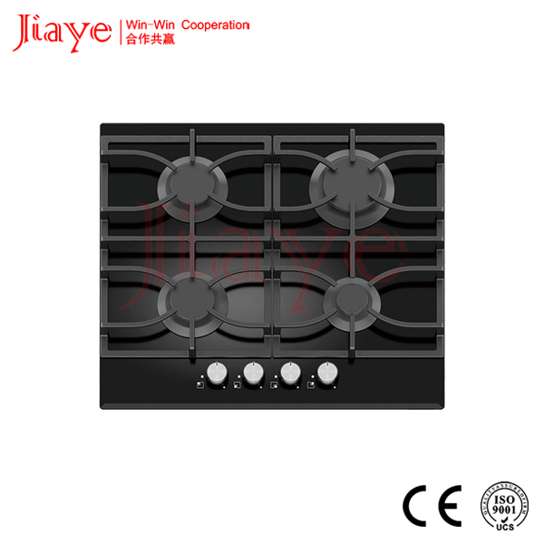 Glass surface 4 burner built in gas hob/dacor gas cooktop