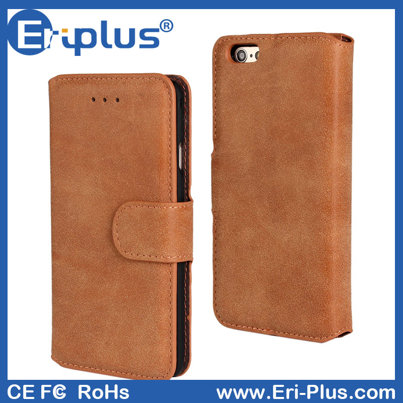 Magnetic wallet Leather for iPhone6s With Holder And Credit Card Fashion Phone Case For Iphone 6s