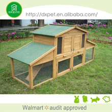 Cheap price waterproof commercial wooden rabbit cages for sale