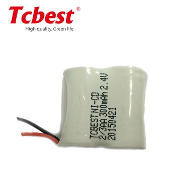 3.6V NI-CD Battery Pack Rechargeable battery pack 2/3 AA 300mah,2/3AA NI-CD rechargeable battery/