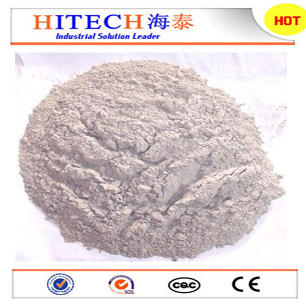 Zibo Hitech China factory high properties high alumina cement for unshape refractory