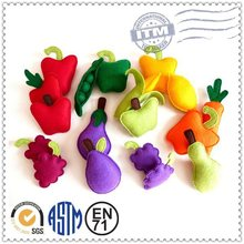 Promotion high quality fashion custom lovely fruit & vegetables dolls