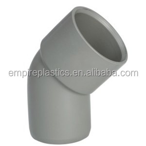 Upvc fitting. 45 Elbow M/F, 90 Elbow M/F(ISO3633)