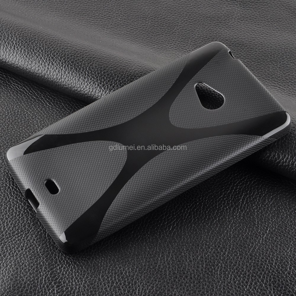 X-Line TPU Gel back cover for nokia lumia 540, case cover for nokia lumia 540