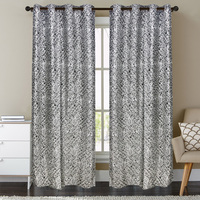 Beautiful And Morden Home Textile Curtains Fabric Design For Living Room