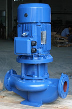 Vertical Inline centrifugal submersible pump in city water supplies (Head (H):2-150m)