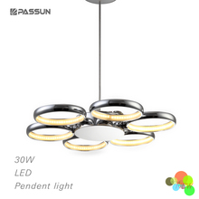 36W Decorative ring led pendant light