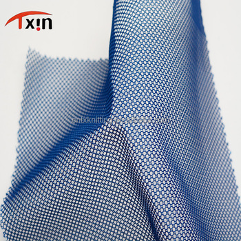 polyester knitted fabric warp mesh fabric lining sports fabric