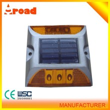 Hot sale high quality aluminum material wholesale led solar driveway marker