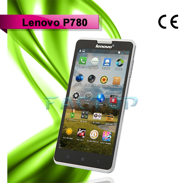 In Stocks Lenovo P780 SmartPhone 4000mAh Battery OTG Android 4.2 Quad Core 1.2GHz Dual Sim 5.0 inch HD 8.0MP