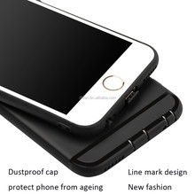 DFIFAN black phone case for iphone 6,soft TPU material mobile covers for apple iphone 6s