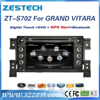ZESTECH 2 din 7 inch car dvd player touch screen car radio gps for suzuki grand vitara