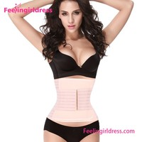 Adjustable Lose Weight Tummy Control Nude Waist Trimmer Belt Slimming