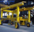 China HT Crane rubber tyred wheel hydraulic gantry crane