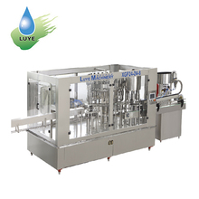 Bottle Mineral / Purified Water Production Line / Packing Machine