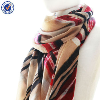 C11010Y(nine)The scarf factory Wool Suppliers Chinoiserie Printing of pure cashmere scarf Wholesale