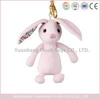 Plush bunny &rabbit plush keychain
