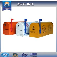 2017 YOOBOX newspaper holder standing mailbox and parcel mailbox outdoor
