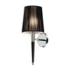 2016 European decorative black pleated wall lamps for home W1021