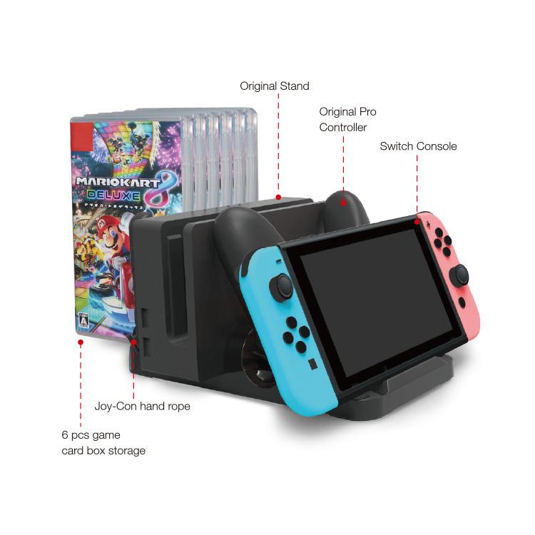Multi-Fonction Support De Charge pour Nintendo commutateur