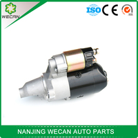 Passed ISO 9001 test performance 12V car starter motor for chevrolet N300 geely greatwall