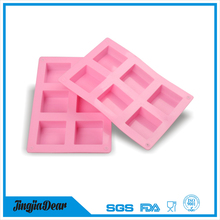 3d Mini Christmas Gift soap making molds handmade custom silicone soap mold fun silicone chocolate molds
