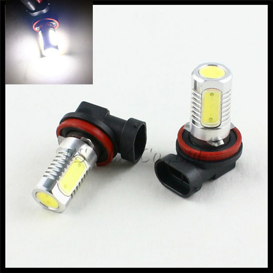 7.5W H11 LED fog light bulb H11 LED parking lights LED side signal lights Car H11 COB LED Fog headlight Lamp Xenon White