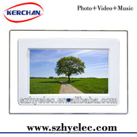 Cheap gif digital picture frame 7 inch digital photo frame loop video