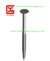 helical pile hot dipped galvanized Ground Screw Pole Anchor