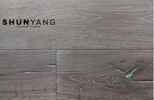2016 New Design Wide Plank Smoked Sawn Mark Multilayer Engineered OAK Wood Flooring
